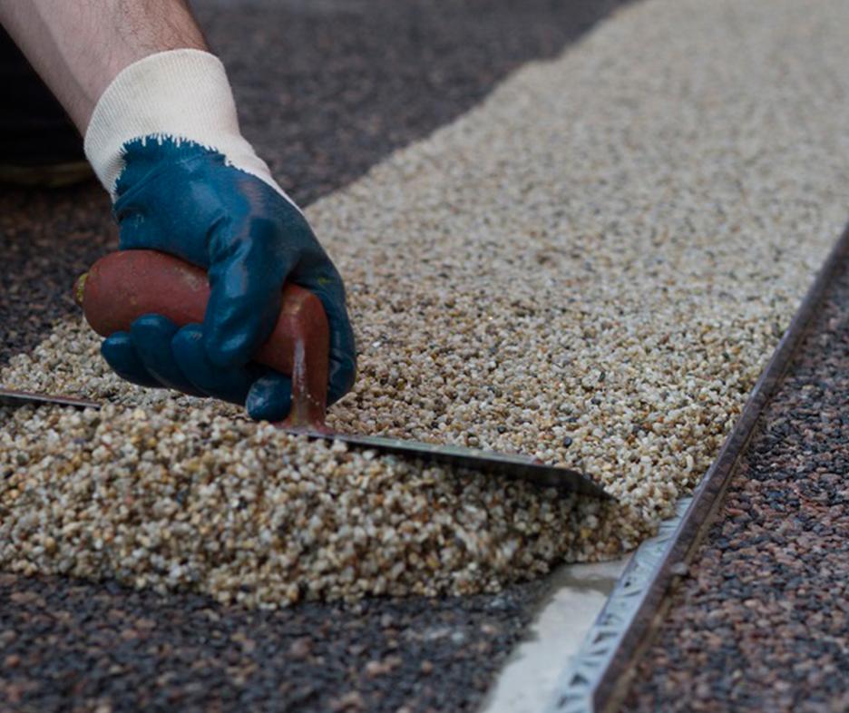Resin Pour on Gravel Binder for Binding Loose Stones in Resin | Vuba