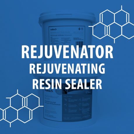Rejuvenating sealer for resin bound