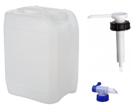 Vista Medium Bottle, Pump & Tap Kit (5L & 2.5L)
