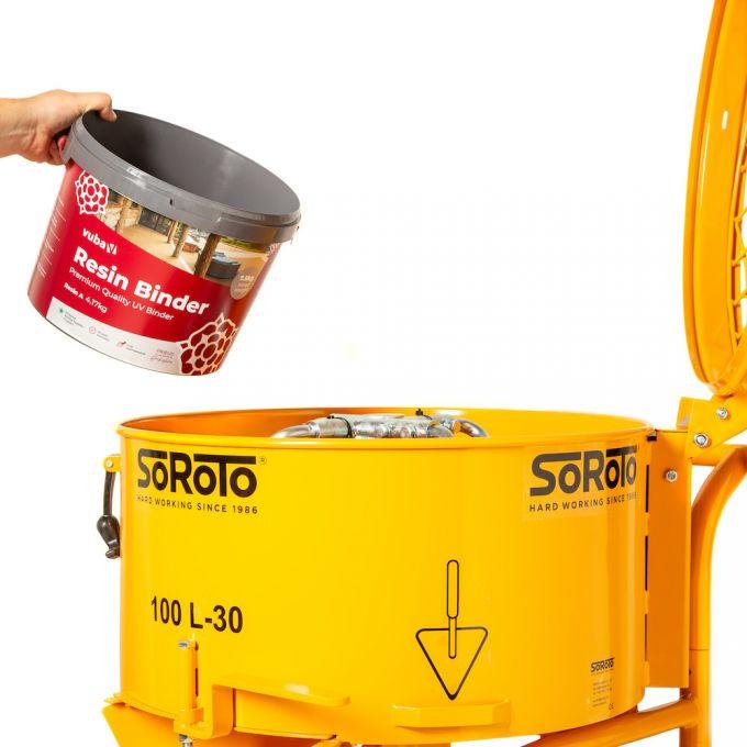 Soroto Resin Bound Mixer