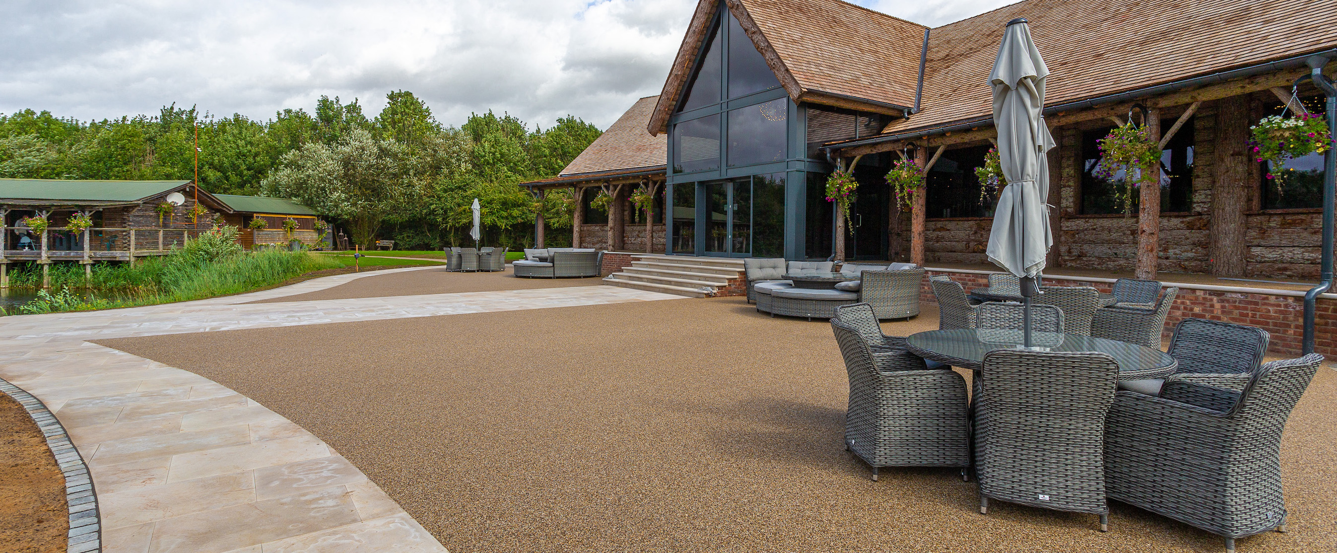 Traditional Resin Bound at Wedding Venue