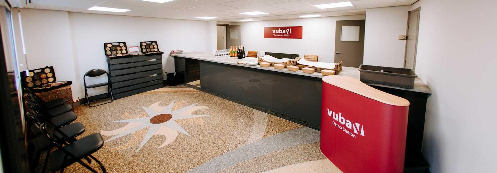 Vuba Resin Bound Showroom