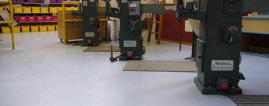 Workshop Floor Paints