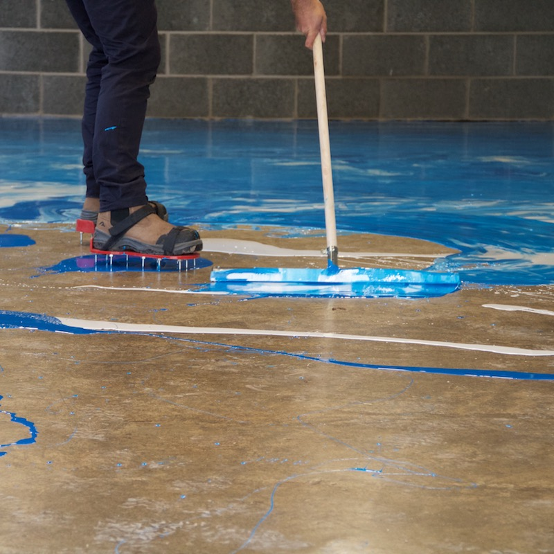 Marble Effect Floor Paint