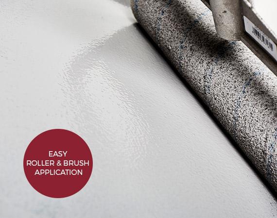 Epoxy concrete floor paint