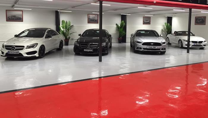 Chemical Resistant Epoxy Floor Paint