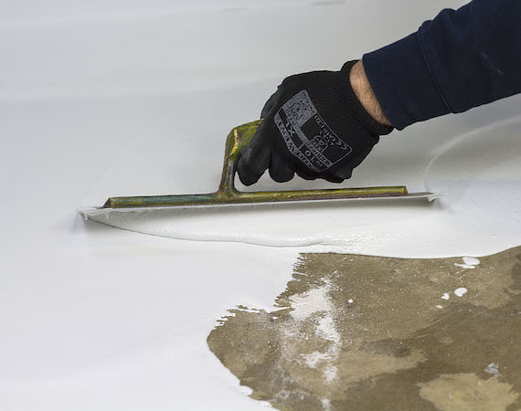 Seamless Epoxy Screed